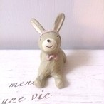 アニマルマスコット ウサギ  おすわり