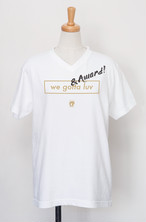 【受注生産】POLYPLUS apparel AWARD V-neck T-shirt ホワイト