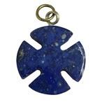 チリ産 ラピスラズリ マルタ十字架