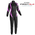 IA01854W277  FIRST Elle Suit  BLACK / FUCHSIA
