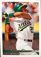 MLBカード 93UPPERDECK Ruben Sierra #145 ATHLETICS