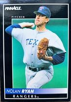 MLBカード 92PINNACLE Nolan Ryan  #050 RANGERS