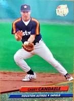 MLBカード 92FLEER Casey Candaele #489 ASTROS