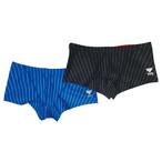 TYR×GUARD メンズ水着 ストライプ ショートボクサー gud-bstp16 競泳 ブランド トライアスロン レスキュー ライフセービング