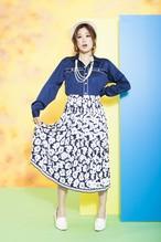 60's used skirt(sk-04)