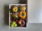 【期間限定】秋の果物セットと丹波篠山黒大豆枝豆さやのみ 二段
