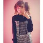 【Manon Mimie】セットアップ /トップス-ギンガムチェック-