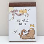 【柴犬・ANIMAL WEEK】メモ帳【64968】