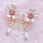 Spring〜YUKInoHANA【earrings】