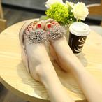 【shoes】大人らしい定番ファッションセクシーパーティーウェッジソールサンダル