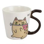 【猫三兄弟】となりの3兄弟マグカップ(ラグビーbuti)ブチ