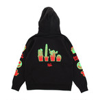 【Goods & Supply】Cactus Pullover Hoodie / Black