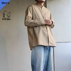 weac. コットンダンプルーズシャツ CHIVIC ベージュ