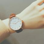 【小物】ファッションカジュアルストラップ無地アクセサリークオーツ 腕時計
