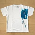 オールドTシャツ企画 オリジナルプリントT しずく Mサイズ