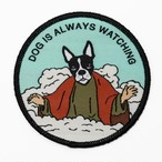 "Pretty Bad Co""Dog Is Always Watching Patch"""