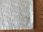 tendre / タオルとガーゼのふっくらハンカチ (小花-ミントグリーン)