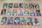 1986年シカゴカブスのベースボールカードいっぱい!