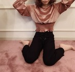 Treat original pink velours tops