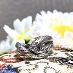 【限定SALE】6/24(金)までお値下げ中‼️【Japanese traditional ring】★プラチナリング★スネイク★幸運の神様★蛇様★