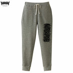 【モコモコロゴ】Marrion Apparel Logo Pants (Gray×Black)