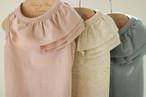 フリル Tシャツ(クール&防蚊)