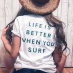 ◯SURFRISE surfboard Tee