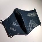 [再販]スタイリッシュマスク*鳥獣戯画柄【Atsuno.Mask】