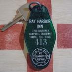 アメリカ BAY HARBOR INN[ベイ ハーバー・イン]ホテル ヴィンテージ ルームキー
