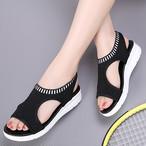 【shoes】厚底カジュアルカラー豊富歩きやすいサンダル