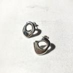 Tube colors pierced earrings4 pair