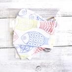 【SJK】折り返し型立体布マスク(魚)・大人用サイズ/マスク