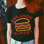 【20%OFF】Burger Tee《BLACK》