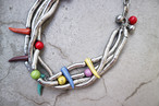 Vintage colorful necklace