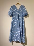 Flower Dress(Blue)