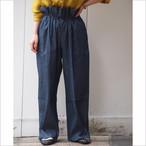 【hippiness】union denim drawstring pants/【ヒッピネス】ユニオン デニム ドローストリング パンツ