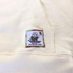 メンズ パーカー アイボリー 冬ロゴ サムネイル