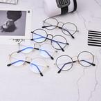 【小物】レトロサングラスアイウェアー眼鏡男女兼用アクセサリーメガネ