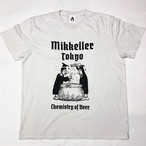 "TACOMA FUJI RECORDS × Mikkeller Tokyo ""Chemistry of Beer"" Tee [Ice Gray]"