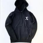 X boy hoodie BLACK