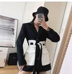 マルニポケットベルトジャケット ジャケット 韓国ファッション
