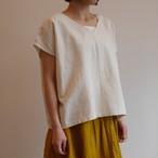【SALE】30%off 会津木綿UVネックシャツ(レギュラー丈) YAMMA ヤンマ産業