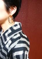 イヤリング/ Odd earring 'Poker Face'