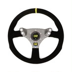 OD/2048/N  320 HYBRID S FLAT STEERING WHEEL BLACK