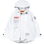 HERON PRESTON × NASA  /  HIGH TECH PARKA / White