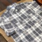 Workers(ワーカーズ) インド手織りカディ 半袖ワークシャツ