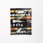 【一点もの】No.323   スカーフで作ったPVCクラッチバッグ