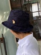 e-zoo  イーズゥー  モザイク HAT   ネイビー