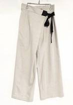 BRISEMY Wrap tape linen pants ブライズミー ラップテープリネンパンツ