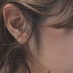 HEART Daith body jewelry K10YG #LJ18001P ハート ダイス ボディピアス